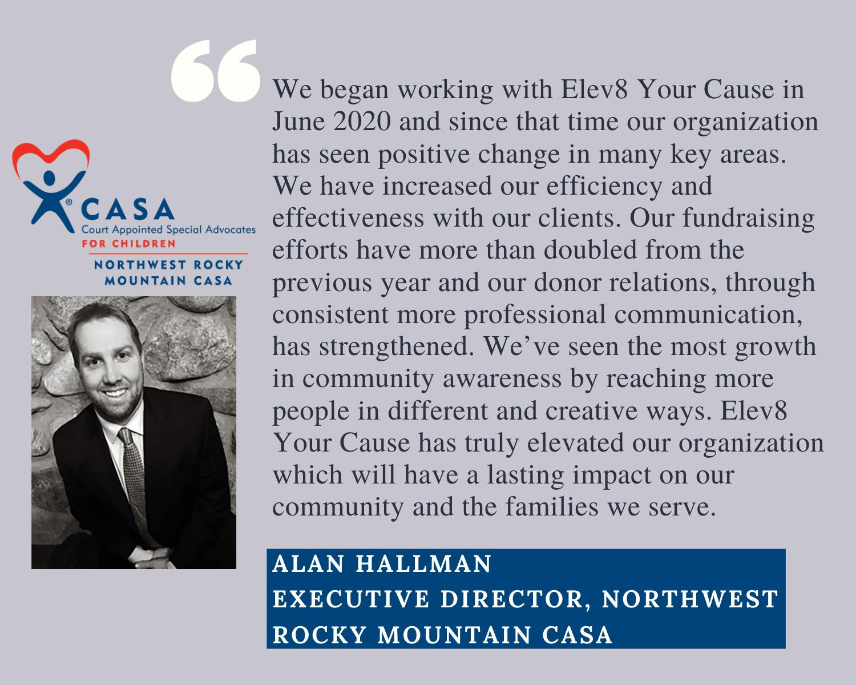 NWRM CASA Executive Director Alan Hallman Testimonial