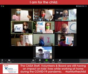 CASA Board Zoom Call